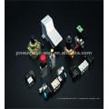 raccords pneumatiques mâles droits PC-c raccords compacts avec manchon en plastique