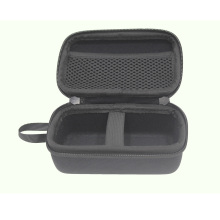 Hard mini nylon bluetooth speaker case with strap