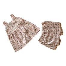 Baby's Dresses, Made of 100% Cotton, Ideal for Summer Season