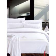 Satin Quality Hotel Textile Bettwäsche Bettwäsche Set für Westin Hotel Motel