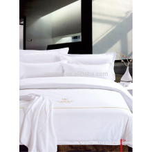 Satin Quality Hotel Textile Bed Linens Bedding Set for Westin Hotel Motel