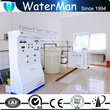 fuel less swimming pool chemical generation machinery