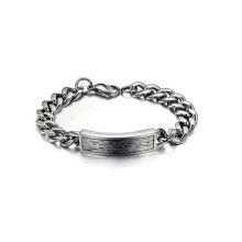 Pulsera de cadena larga de moda, pulsera magnética de titanio impermeable