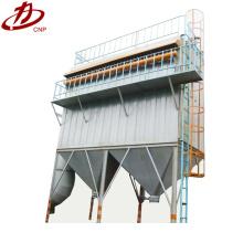 Petit filtre à sac de collecteur de poussière de silo en acier de jet de bois d'impulsion