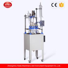 Polymerization Stirring One Single Layer Glass Reactor