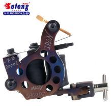 Solong M801-2 Haute Qualité Fer À La Main 10 Wraps Pur Cuivre Tatouage Faire Machine Machine De Tatouage Bobine