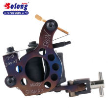 Solong M801-2 High Quality Handmade Iron 10 Wraps Pure Copper Tattoo Making Machine Tattoo Machine Coil