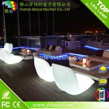 Usage général Meubles LED extérieurs Chaises LED modernes avec éclairage RGB