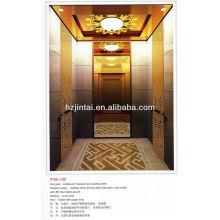 cheap price High Deluxe titanium cabin passenger elevator