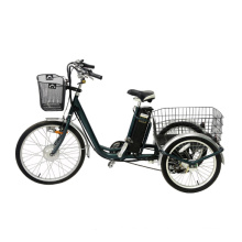 Cheap Adults Electric Cargo Tricycle with Family Use Lithium Power