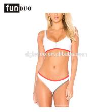 2018 femmes blanches sexy bikini réglable bikini partie maillots de bain 2018 blanches femmes sexy bikini réglable bikini partie maillots de bain