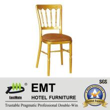 Mobiliário de hotel cadeira de lazer cadeira de madeira (EMT-818)