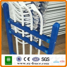 Security spear top tubular steel fence panels made in China