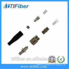 FC / UPC 2.0mm singlemode Fibra Óptica Conector