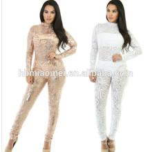Vestido de noche atractivo del vestido atractivo blanco atractivo de la mujer del vintage 2017 para las mujeres gordas