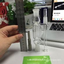 Nectar Collector with Titanium Tip Titanium Nail 14mm Inverted Nail
