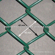 PVC Revestido Chain Link Fence Fábrica e Empresa