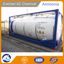 AQUEOUS AMMONIA SOLUTION 27% IN ISO TANK