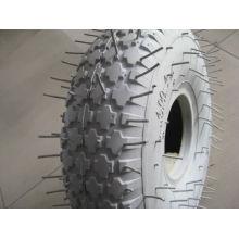 4.00-4 серый цвет резиновые колеса