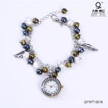 Wasserdichte modische Uhren Süßwasser Perle Uhr