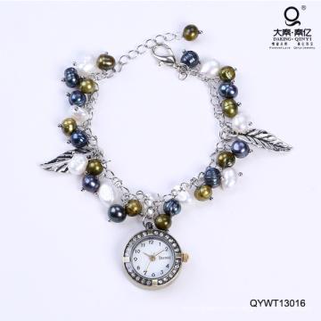 Impermeable Relojes De Moda Reloj De Perlas De Agua Dulce