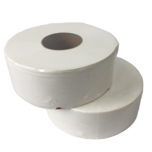 Large toilet paper rolls for hotel toilets