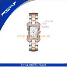 Reloj al por mayor 2016 de la joyería de Diamante Lady Wrist Watch del reloj al por mayor