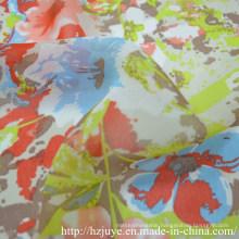 75D Printed Chiffon Fabric
