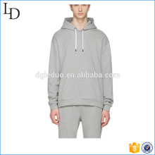 Grey round bottom cheap man hoody spring gymwear wholesale in China