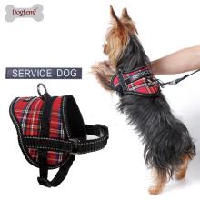 2018 neue Design Reflektierende Brust Harness Modische Keine Pull Dog Service Harness mit Slogan Cute Puppy Hundegeschirr Großhandel