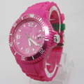 New Environmental Protection Japan Movement Plastic Fashion Watch Sj074-2