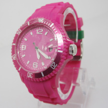 Nouvelle protection de l'environnement Japon Movement Plastic Fashion Watch Sj074-2