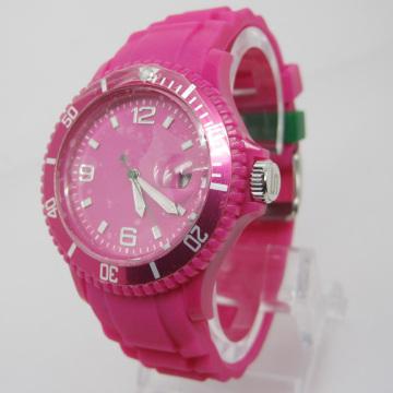 New Environmental Protection Japan Movement Plastic Fashion Watch Sj074-2