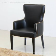 Commercial Luxury Classical Leather Dining Armchair for Hotel (SP-HC552)