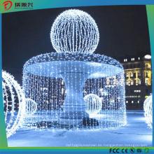 Lámpara decorativa con pilas y centelleante Luz LED con cortina y luces de hadas