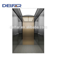Delfar cheap passenger elevator with beautiful decoration and best quality