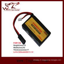 Firefox 11.1V 1300mAh Lipo Li-Po Li-polymère Batterie 20C Mini Type