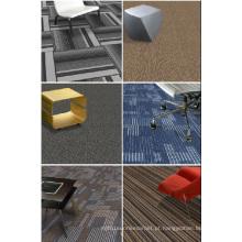 Telha do tapete do escritório do PP com revestimento protetor do PVC