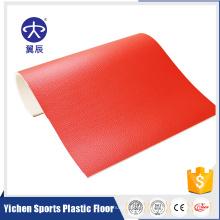 Esporte profissional piso palstic piso de ténis de mesa folha de piso de pvc