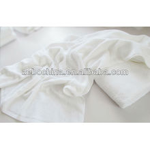 Logotipo personalizado de alta calidad disponible 100% algodón blanco hospital toalla