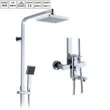 Колонка латунь ванная комната хром душ дождевой душ установить