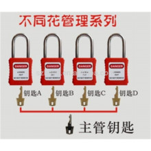 Approve CE very durable Polypropylene , anti-impact modified nylon lock out tag out