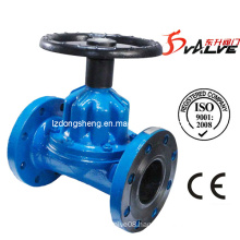 Cast Iron Rubber Lined Straight-Through Diaphragm Valve