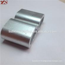 Ferrules en aluminium ovales chauds din3093