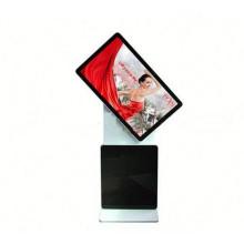 Affichage rotatoire de la publicité d'affichage à cristaux liquides d'écran tactile de 55 pouces
