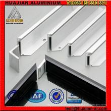Profils en aluminium pour support solaire