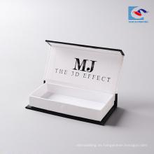 Pestañas de visón del fabricante de pestañas Alibaba al por mayor de cartón de embalaje personalizado con logotipo propio para visón de visón 3d visón