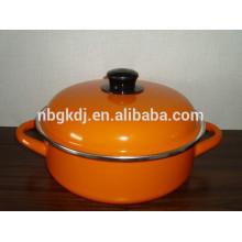 seafood pot with enamel coating