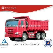 Piezas de camiones sinotruk