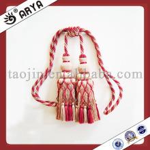 Nice rideau accessoires Fringes Tassel utilisé pour rideaux Tissus